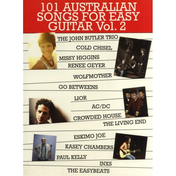 101 Australian Songs For Easy Guitar Volume 2