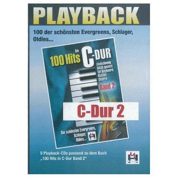 100 Hits In C-Dur Band 2 (5 Playback-CDs)