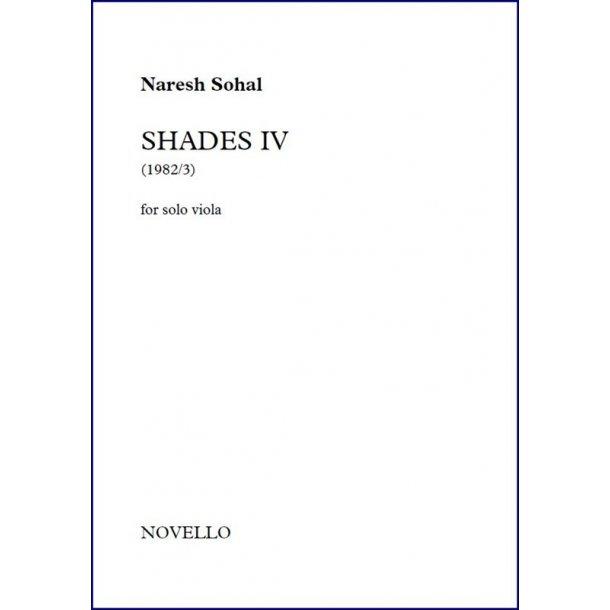Naresh Sohal: Shades IV (Solo Viola)