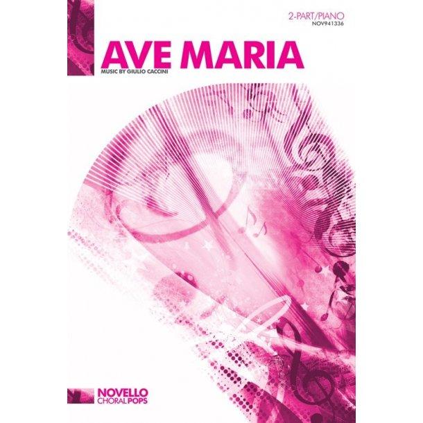 Giulio Caccini: Ave Maria - 2-Part/Piano