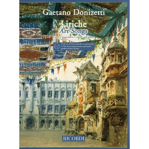 Gaetano Donizetti: Liriche - Art Songs (Voice and Piano)
