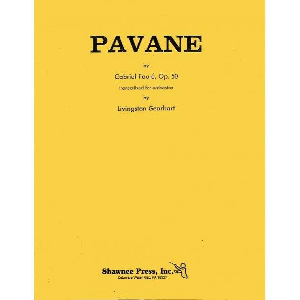 Gabriel Faure: Pavane Op.50 Orch Score/Parts