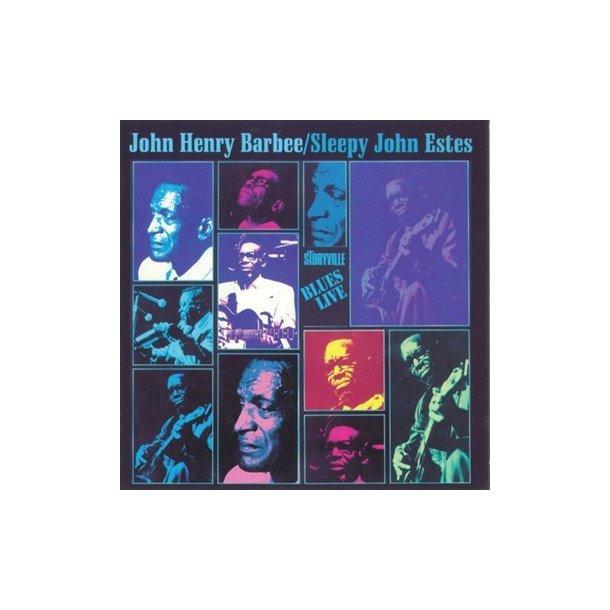'Sleepy' John Estes/John Henry: Blues Live!