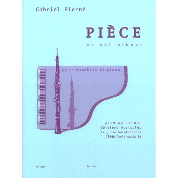 Gabriel Pierné: Pièce En Sol Mineur (Oboe And Piano)