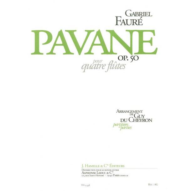 Gabriel Faure: Pavane Op.50 (4 Flutes)