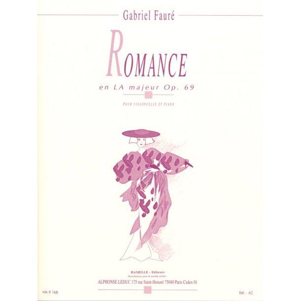 Gabriel Fauré: Romance En LA Majeur Op. 69