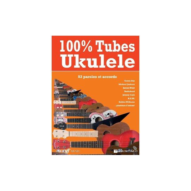 100% Tubes Ukulele Bk