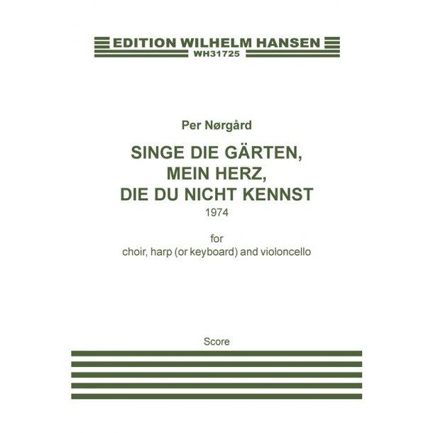 Nãrg·rd Singe Die G³rten... Sc