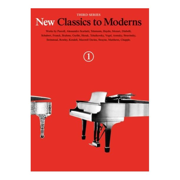 New Classics To Moderns: Book 1