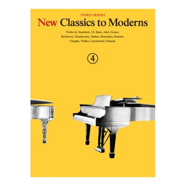 New Classics To Moderns: Book 4