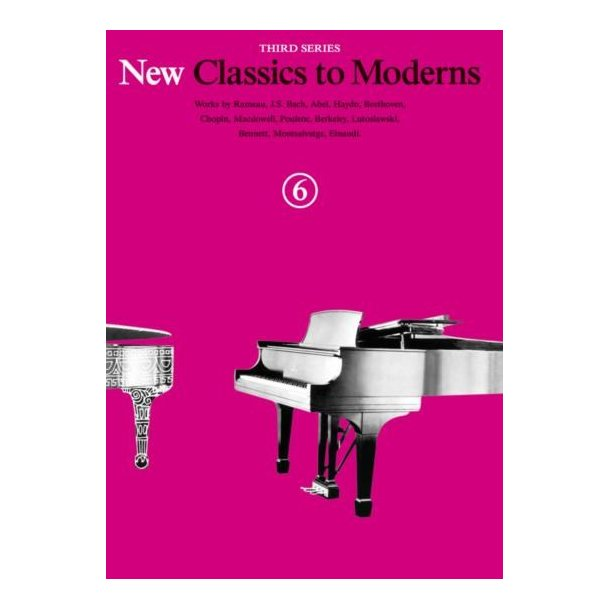 New Classics To Moderns: Book 6