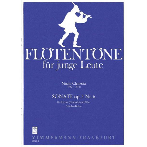 Muzio Clementi: Sonata Op.3 No.6