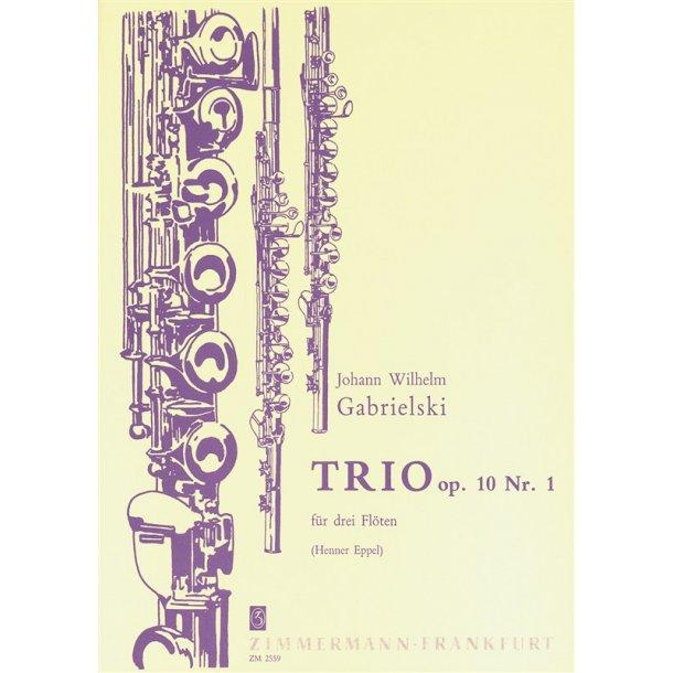 Gabrielski: Trio Op 10/1