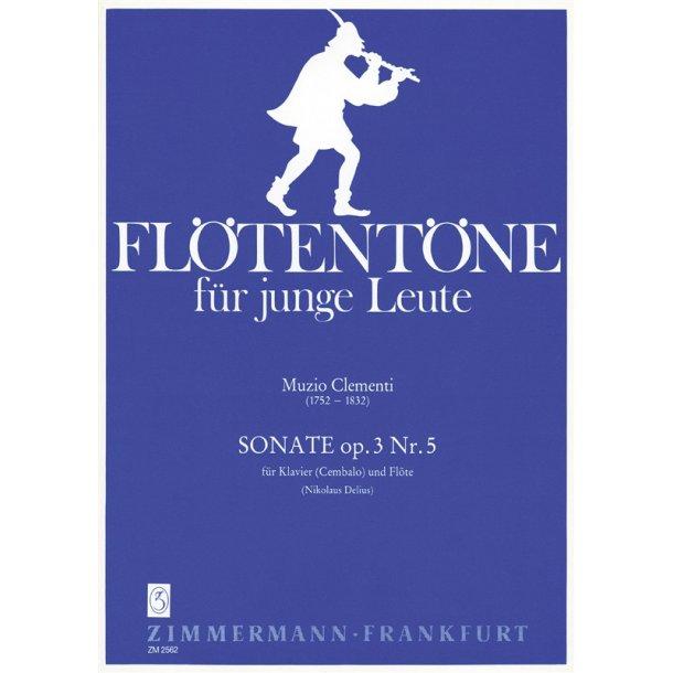 Muzio Clementi: Sonata Op.3 Nr.5