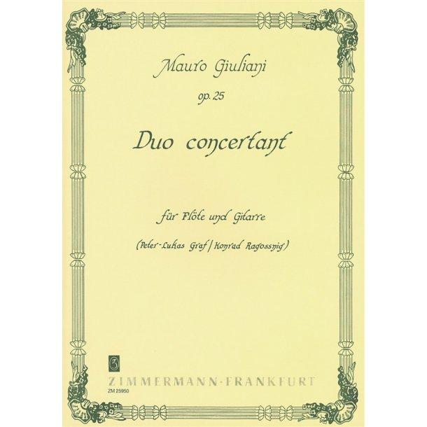 Giuliani: Duo Concertante Op 25