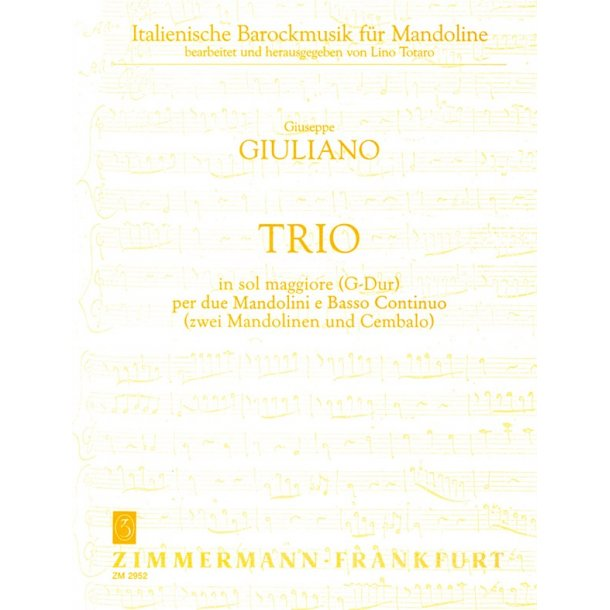 Giuliano: Trio G Major