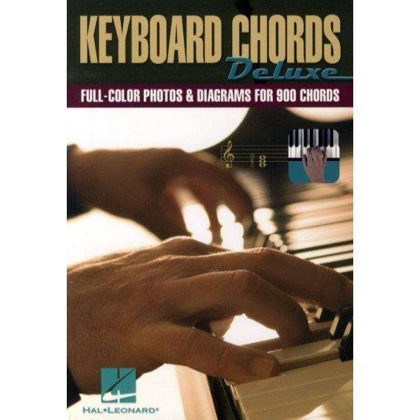 Klaver/Keyboard akkord diagram bogen - Keyboard Chords Deluxe