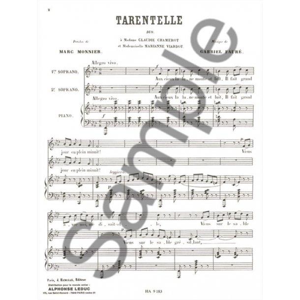Gabriel Fauré: Tarentelle Op.10 No.2