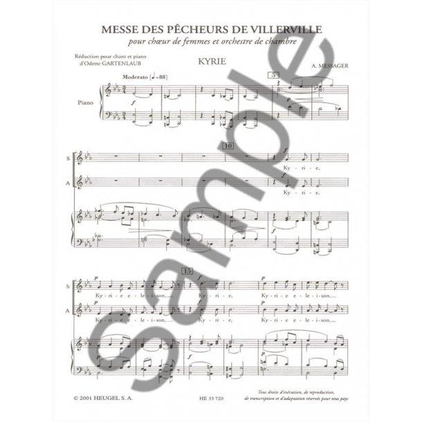 Gabriel & André Fauré G.& Messager A.: Messe des Pêcheurs de Villerville (Choral-Female accompanied)