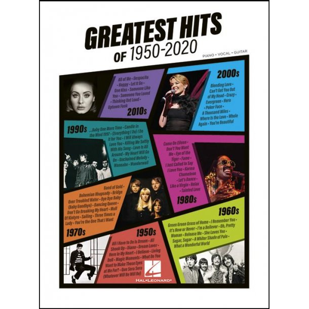 Greatest Hits of 1950-2020 (PVG)