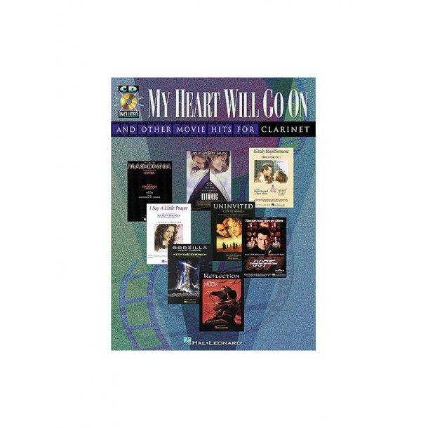 My Heart Will Go On and Other Movie Hits (Clarinet)