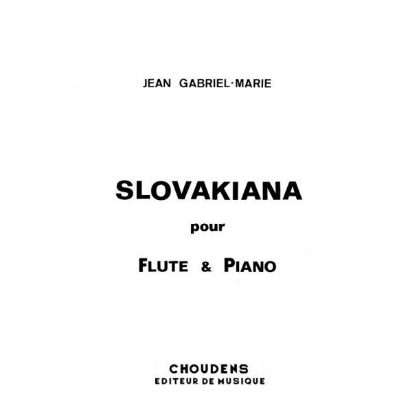 GABRIEL-MARIE SLOVAKIANA FLÛTE ET PIANO