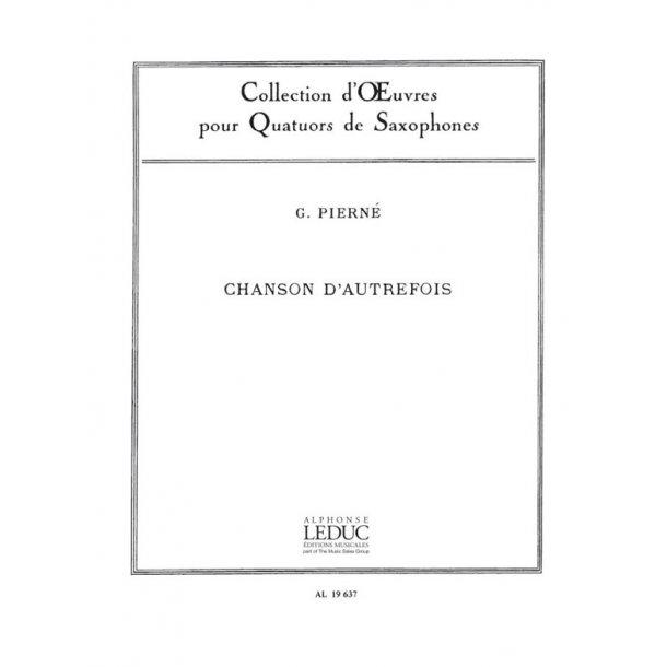 Gabriel Pierné: Chanson d'Autrefois Op.14, No.5 (Saxophones 4)