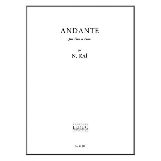 Naohiko Kaï: Andante (Flute & Piano)