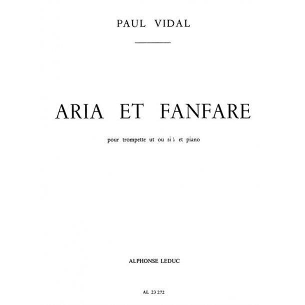 Paul Vidal: Aria et Fanfare (Trumpet & Piano)