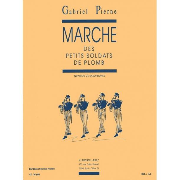 Gabriel Pierné: Marche des petits Soldats de Plomb Op.14, No.6 (Saxophones 4)