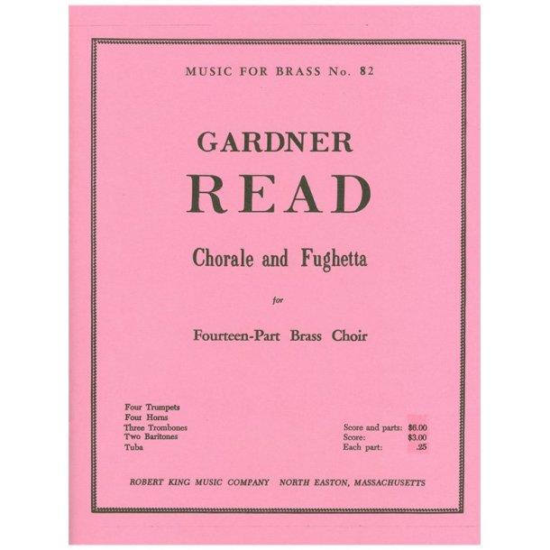 Gardner Read: Chorale & Fughetta (Ensemble-Brass 8 or more)