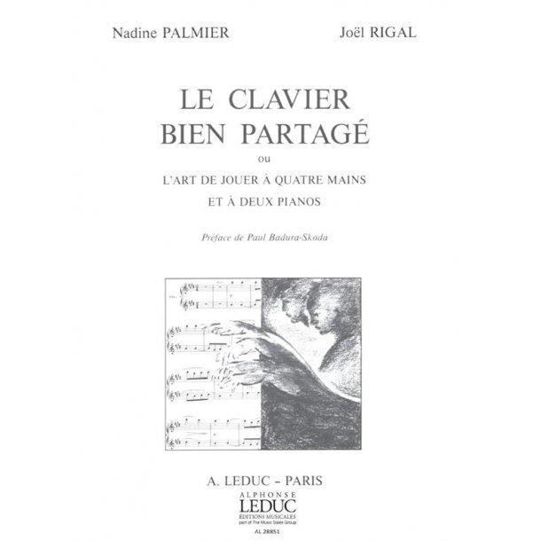 Nadine & Joel Palmer N.& Rigal J.: Le Clavier bien partagé (Book)