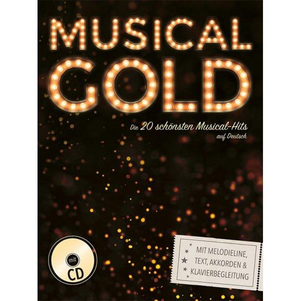 Musical Gold - Die 20 schönsten Musical-Hits auf Deutsch MLC