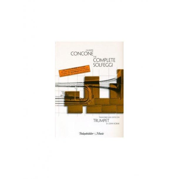 Giusepe Concone: The Complete Solfeggi (Trumpet)
