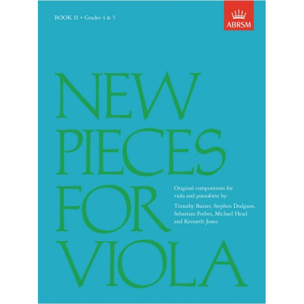 New Pieces for Viola - Book 2