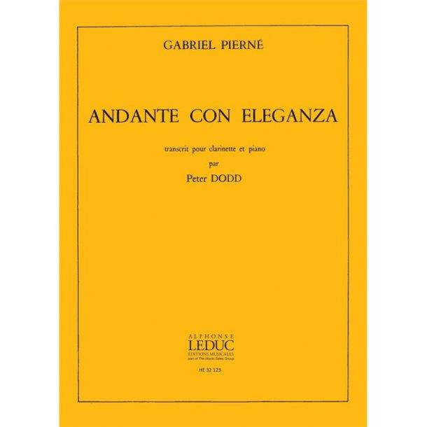 Gabriel Pierné: Andante Con Eleganza (Clarinet)