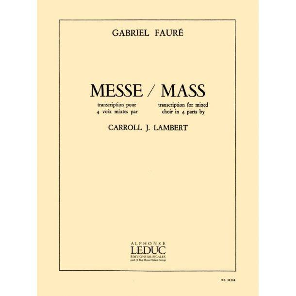 Gabriel Fauré: Messe Basse (SATB)