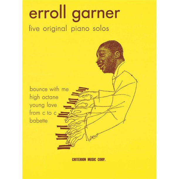 Garner Erroll Five Original Piano Solos (Arr Feldman Morris) Pf Bk