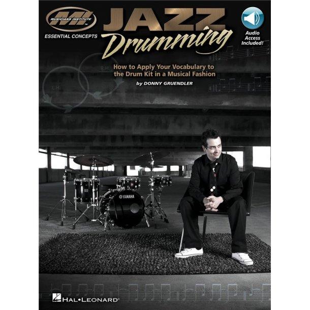 Musicians Institute Jazz Drumming Apply Your Vocabulary Drums Bk/Audio
