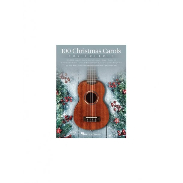 100 Christmas Carols For Ukulele Uke Book