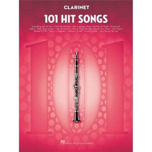 101 Hit Songs (Clarinet)