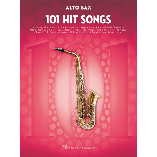 101 Hit Songs (Alto Saxophone)