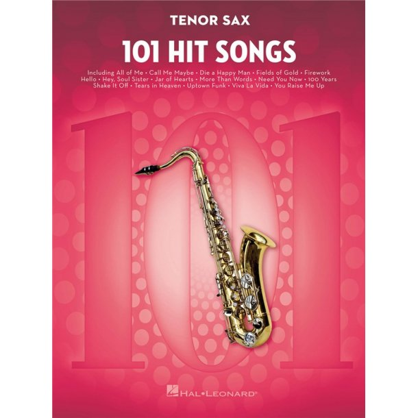 101 Hit Songs (Tenor Saxophone)
