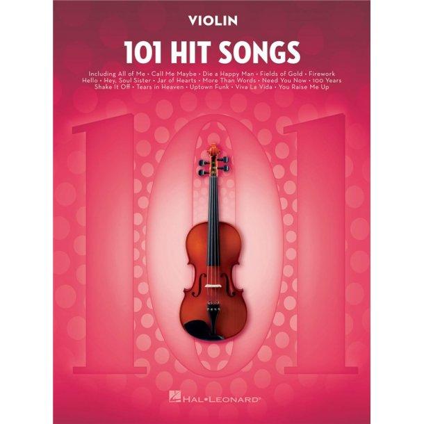 101 Hit Songs (Violin)
