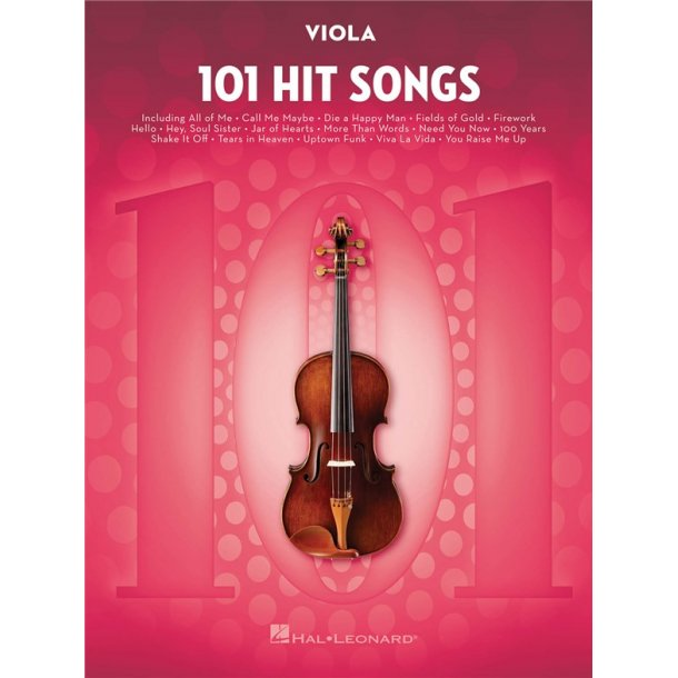 101 Hit Songs (Viola)