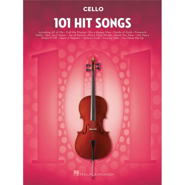 101 Hit Songs (Cello)