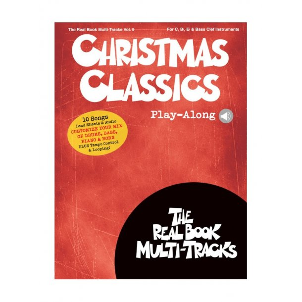 Christmas Classics Play-Along: Real Book Multi-Tracks Volume 9