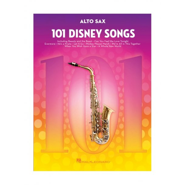 101 Disney Songs: Alto Sax