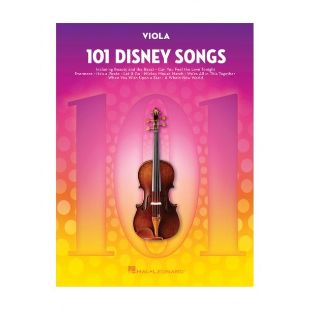 101 Disney Songs: Viola