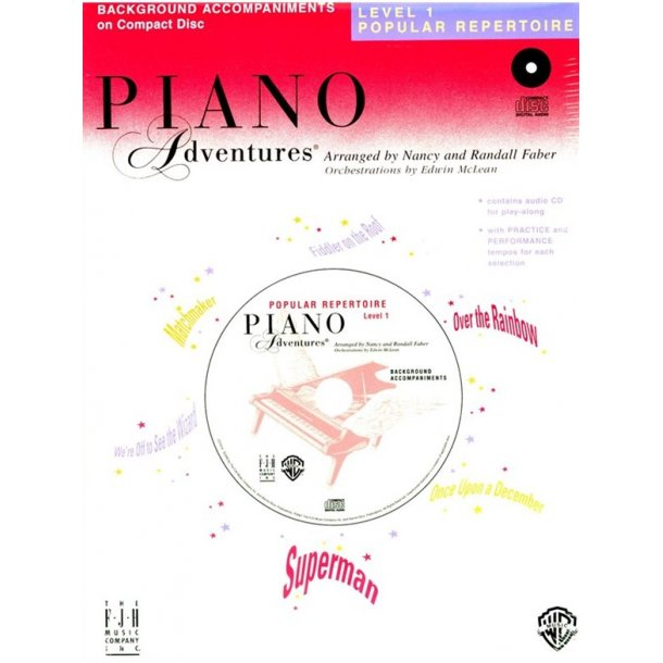 Nancy & Randall Faber: Piano Adventures® Popular Repertoire CD, Level 1